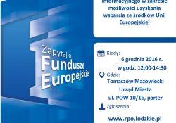 Mobilny Punkt Informacji o Funduszach Europejskich